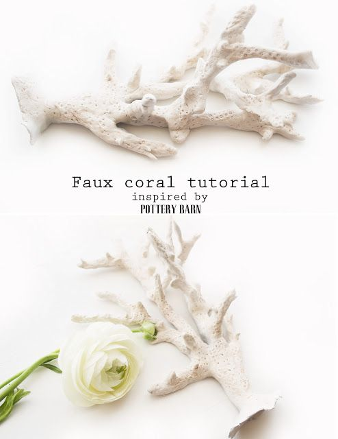 Faux coral tutorial