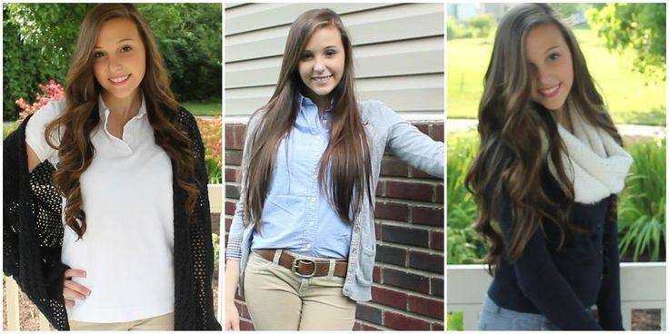 5 Uniform Outfit Ideas   Back to School #2