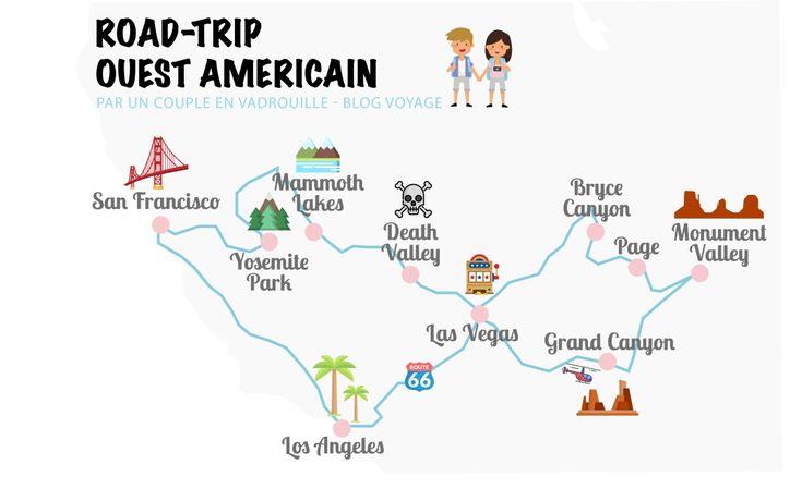 Highway-Journey dans l'Ouest Américain