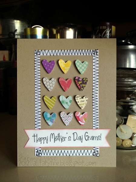 Card: Happy Mother's Day Grams!