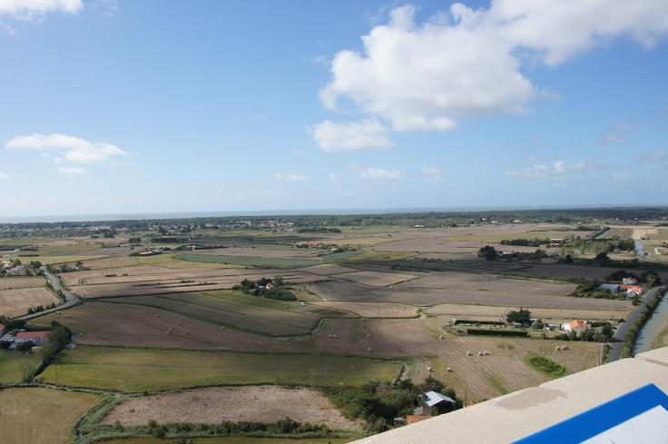 Kulmino vue d'en haut - Notre Dame de Monts à 70m de hauteur ! Venez admirer la vue (ile d'Yeu, Noirmoutier, marais, forêt...)