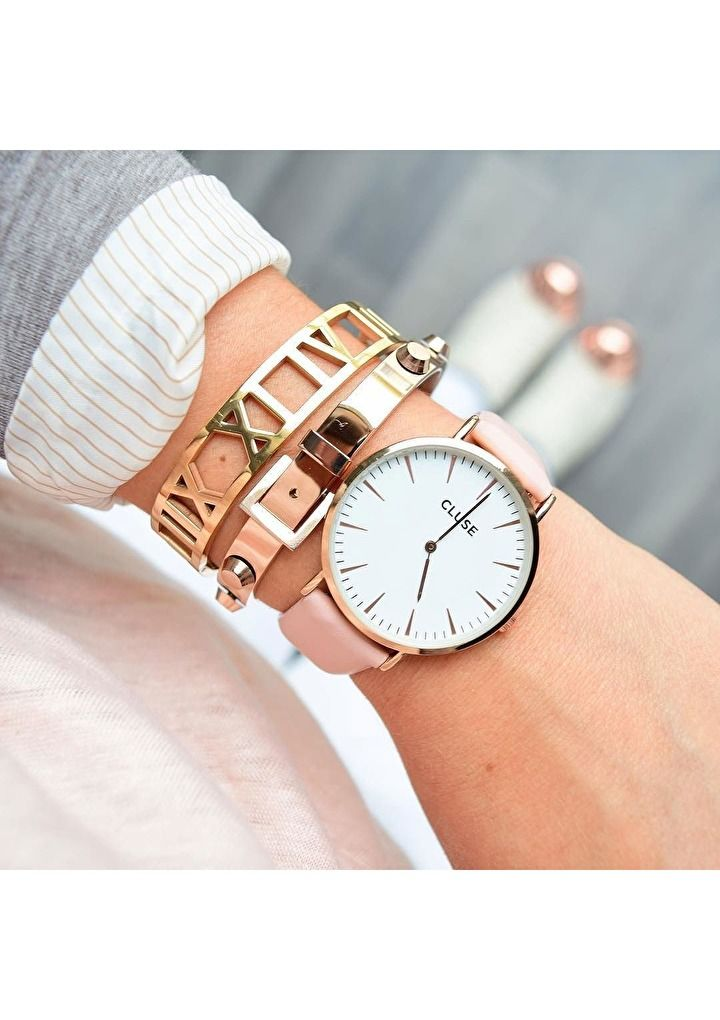 Arm Party Rose Gold Bracelet #ootd #outfit #style #cool #fashion #accessories - 26,90 € @happinessboutique.com