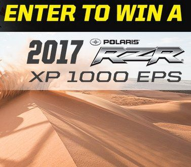 Polaris RZR XP 1000 from Rockstar Energy worth $19,499.00 could be yours, it is the prize that you really want. Admit it!    The Promotion is open to legal residents of Connecticut, Delaware, Illinois, Iowa, Indiana, Kentucky, Maryland, Michigan,...