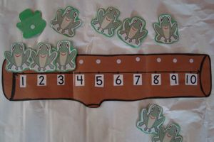 Illuminations: Frogs on a Log. GREAT website to help children learn math. It provides activities and lessons based on grade level and which type of math you would like to teach. My pre-k students loved the Frogs on a Log song and Velcro board I made them :)