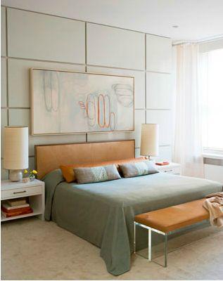 green bedroom
