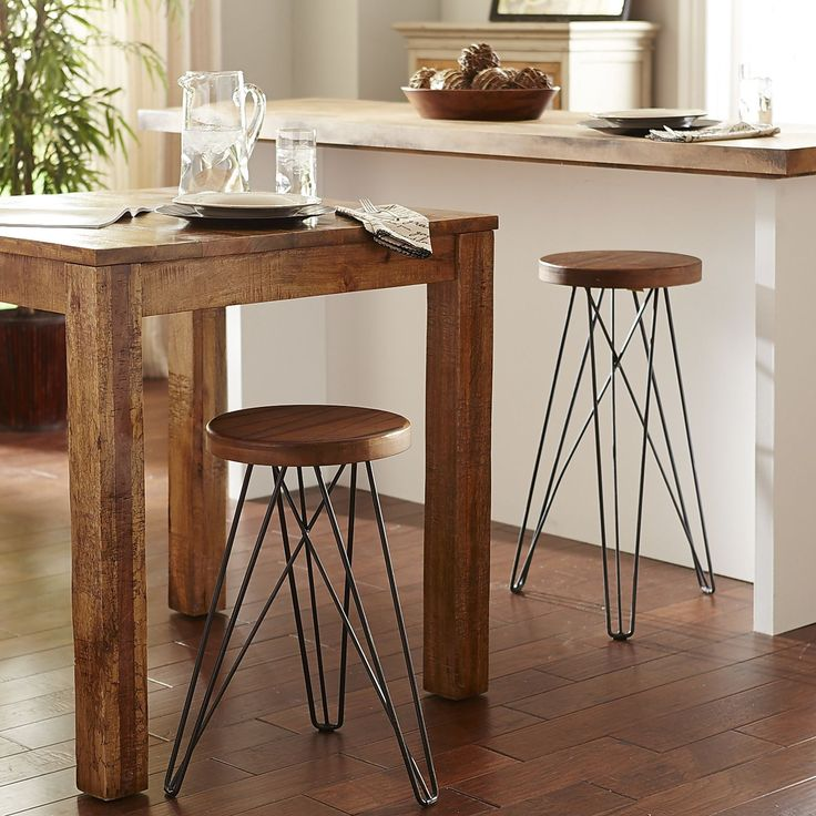 Our Modern Industrial Erie Stools With Their Hairpin Legs