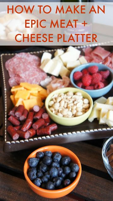 How To: Make A Bomb Meat Cheese Platter