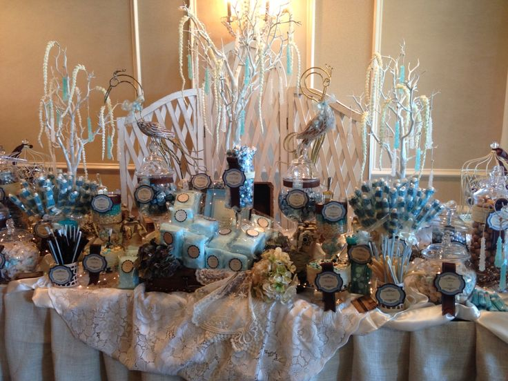 Blues & Browns with Creams Rustic Candy Buffet by Perfectly Posh Candy  Buffets www.perfectlyposhct - 195 Best Perfectly Posh Candy Buffets Images On Pinterest