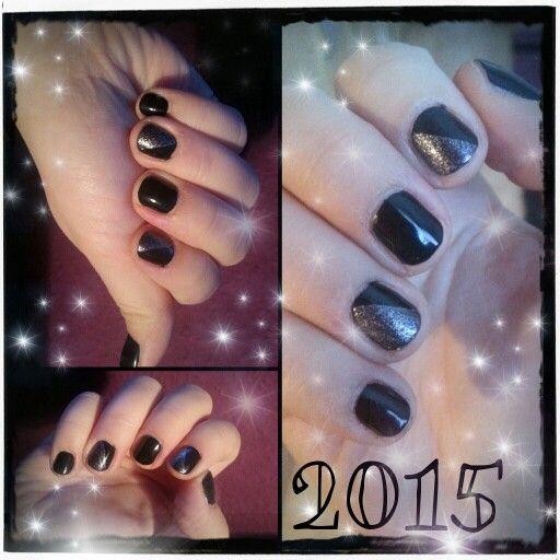 Short nail art  p2 500 eternal+Moyra Sand Effect No.855  #happynewyear 2015
