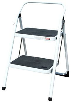 AmeriHome Two Step Utility Stool traditional ladders and step stools