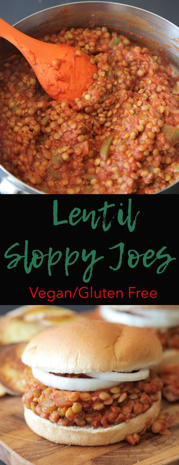 Lentil Sloppy Joes (Vegan + GF) - Modern Little Victories - These vegan sloppy joes are a quick and easy vegan twist on a childhood classic.