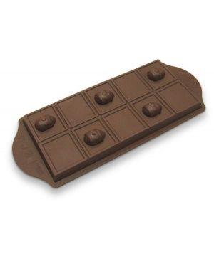 Форма за шоколадови яйца в кафяв цвят от Yoko Design