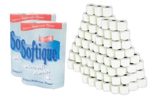 £27 for a 120-pack of 2-ply toilet rolls - delivery included