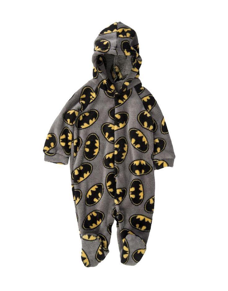 Batman Fleece Sleepsuit