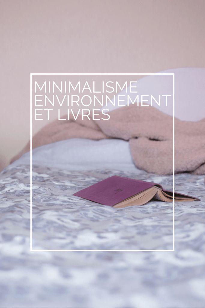 Minimalisme, environnement et livres : réflexions sur ces objets culturels dans…