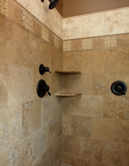 Mediterranean Bathroom Tile Design, Pictures, Remodel, Decor and Ideas - page 3