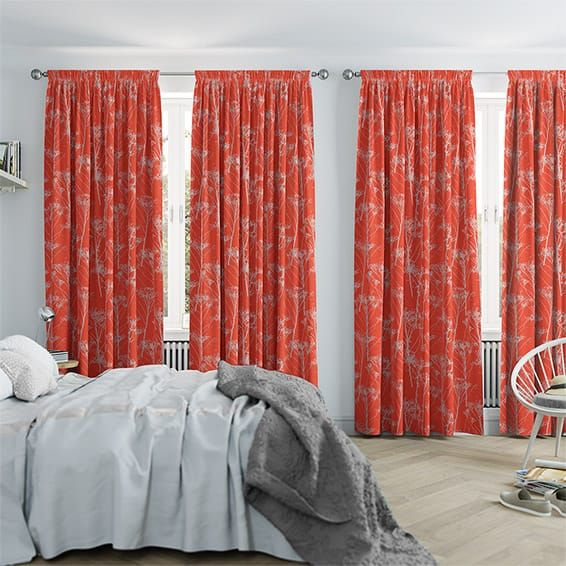 17 best ideas about coral curtains on coral