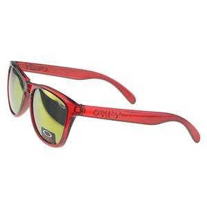 Wholesale Oakley Frogskin Sunglasses Red Frame Gold Lens For Sale Outlet : Oakley  Sunglasses$18.89