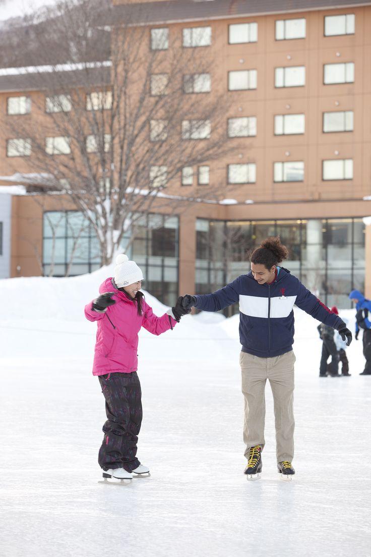 アイススケート Club Med Hokkiado クラブメッド北海道