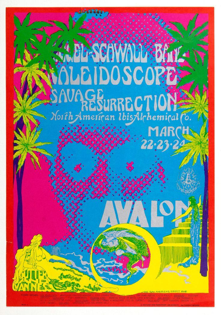 Family Dog 111 Charlie Chaplin Poster Siegal Schwall Kaleidoscope 1968 Mar 22