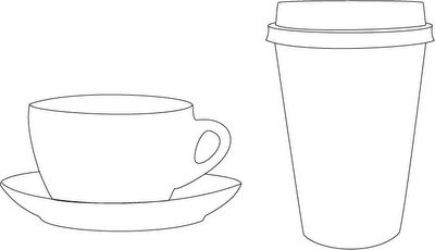 xhCreations: Coffee cup and Tea cup Templates   DIY   Pinterest ...