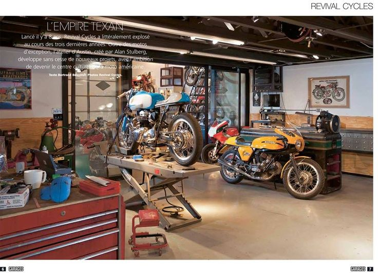 43 best dream garage custom wishlist images on pinterest for Limited space storage solutions