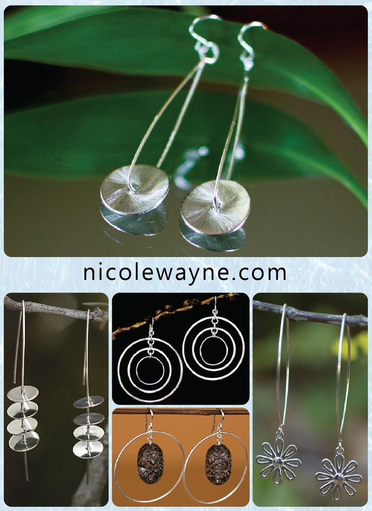 Elegantly designed earrings Air purification systems