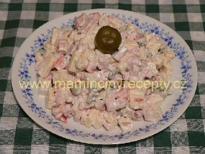 Salát s Moravankou