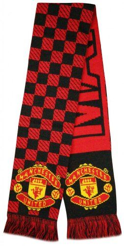 Save $79.01 on Manchester United Soccer Super Fans Jacquard Scarf - Multicolour; only $18.99