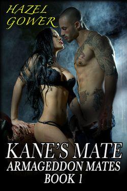The first book in my Armageddon mates series.  http://www.amazon.com/Kanes-Mate-Armageddon-Mates-Book-ebook/dp/B00BV1X464/ref=la_B00BCY7164_1_7_title_0_main?s=books&ie=UTF8&qid=1429852870&sr=1-7