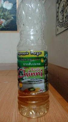 thai product: pineapple vinegar review