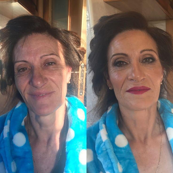 Maquillaje piel madura glam