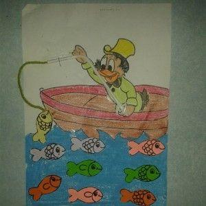 fisherman craft idea