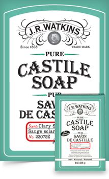 JR Watkins Clary Sage CASTILE soap Bar BROOKS Alberta & AREA CONSULTANTS #495371 naturalsduchessab@gmail.com www.respectedhomebusiness.com/info/menu.php?pid=495371