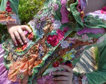 Empress jacket long ornate baroque influenced by FleursBoheme