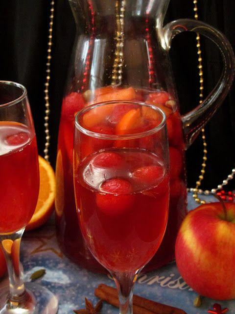 Постигая искусство кулинарии... : Безалкогольный клубничный пунш
