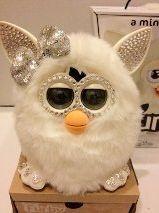 Holiday Bling Swarovski Edition Furby 2012 White | eBay