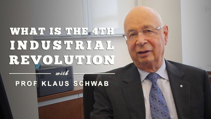 What is the Fourth Industrial Revolution? by Prof Klaus Schwab