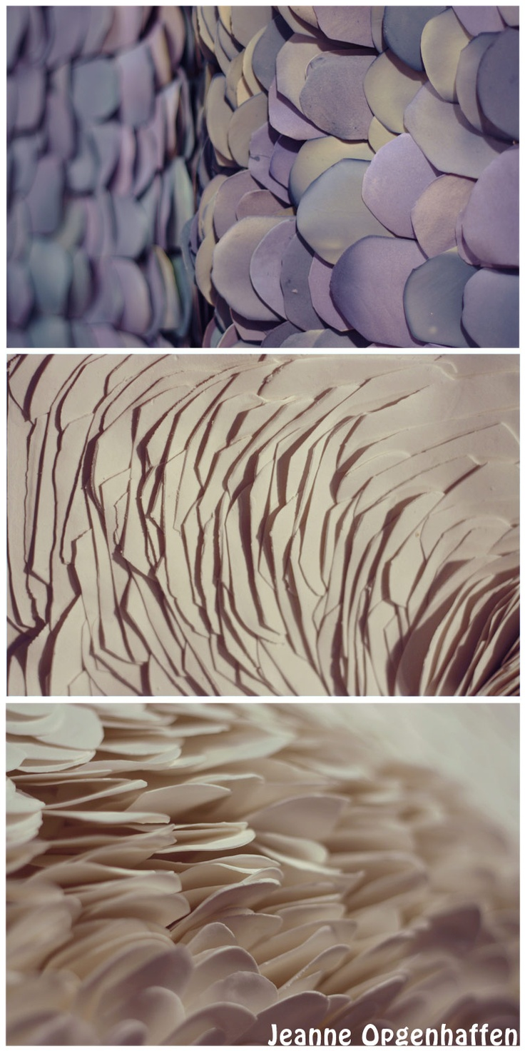 Jeanne Opgenhaffen's porcelain tiles