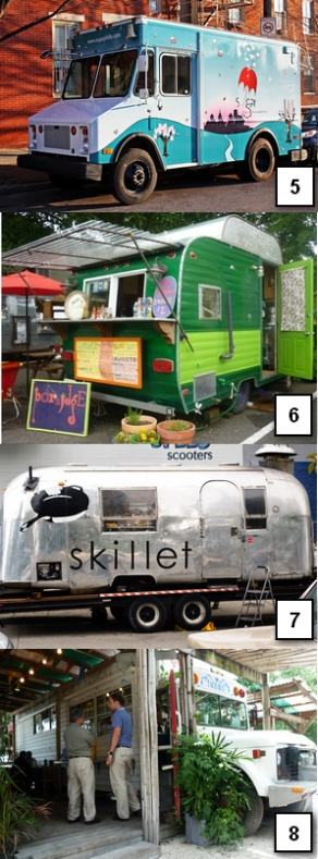 The 8 Craziest-Looking Food Trucks (5-8)