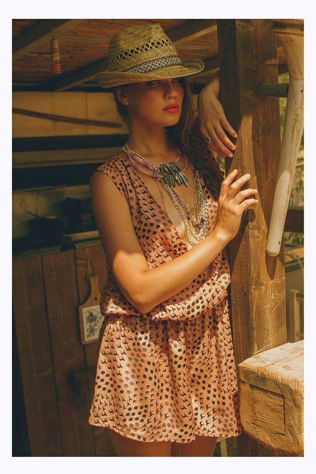 "Saloon - H-ēra by Michalis Lavdiotis -Odelia jumpsuit from SS2014 ""Passe-Partout"" Collection More @www.h-era.com"