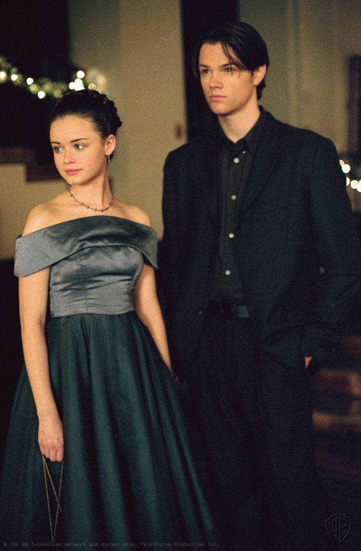 As Dean Forester and Rory Gilmore in Gilmore Girls, which he starred in from 2000-2005
