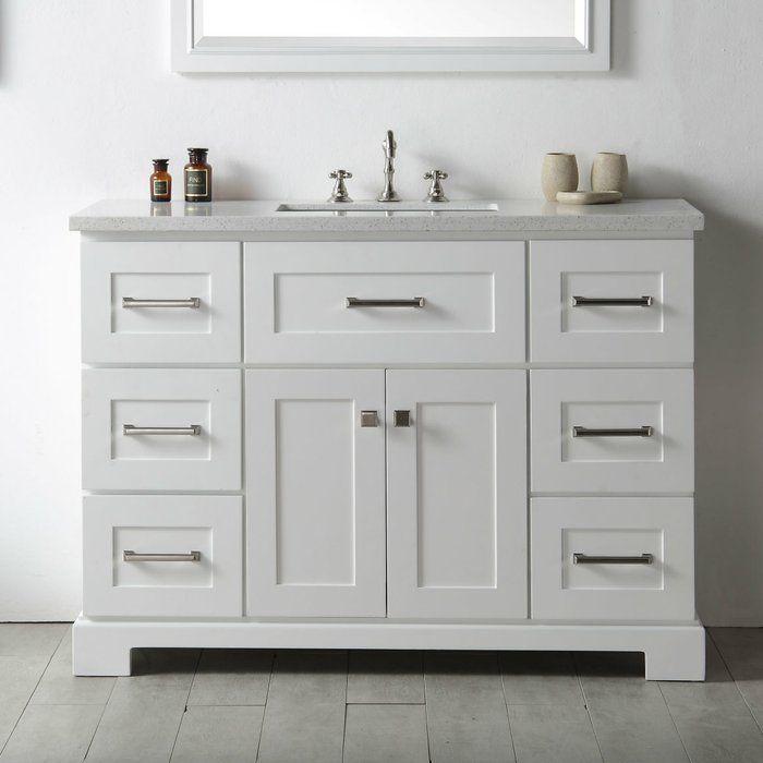 sofley 48 single bathroom vanity set single bathroom on vanity bathroom id=43532
