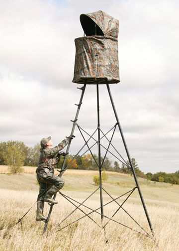 Climbing Tree Stand, Hunting Tree Stands, Hunting Ladder Stands   Big Game  Treestands