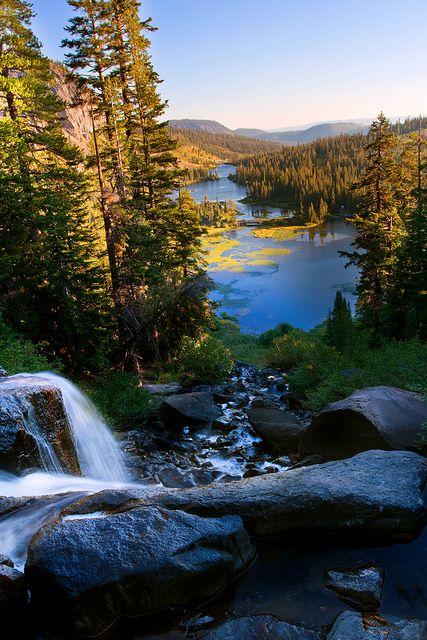 Mammoth Mountain and Twin Lakes, California; photo by Matt Purciel