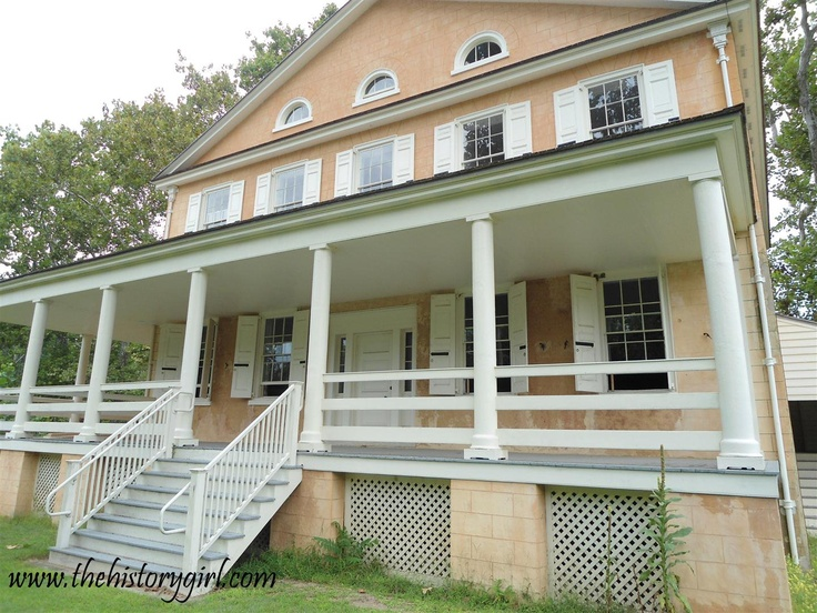 Atsion Mansion, constructed in 1826. Wharton State Forest, Shamong, NJ. Learn more at www.thehistorygirl.com