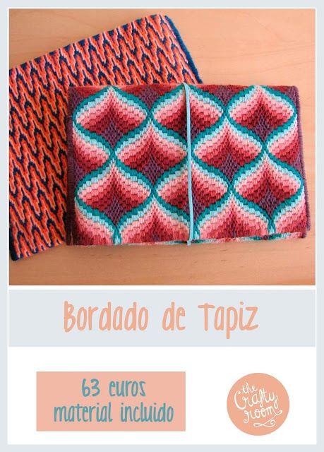 The Crafty Room: Curso de Bordado de Tapiz