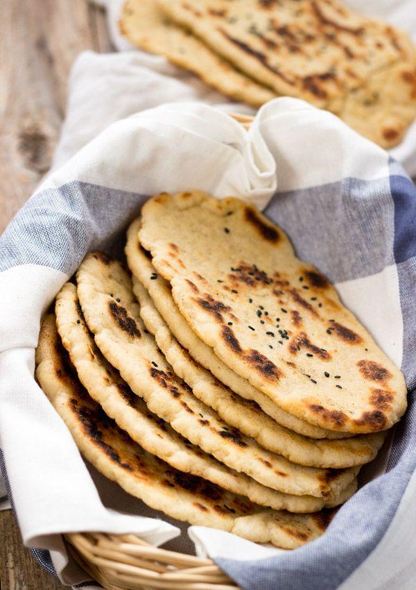 Gluten-Free Naan Bread | Light Orange Bean