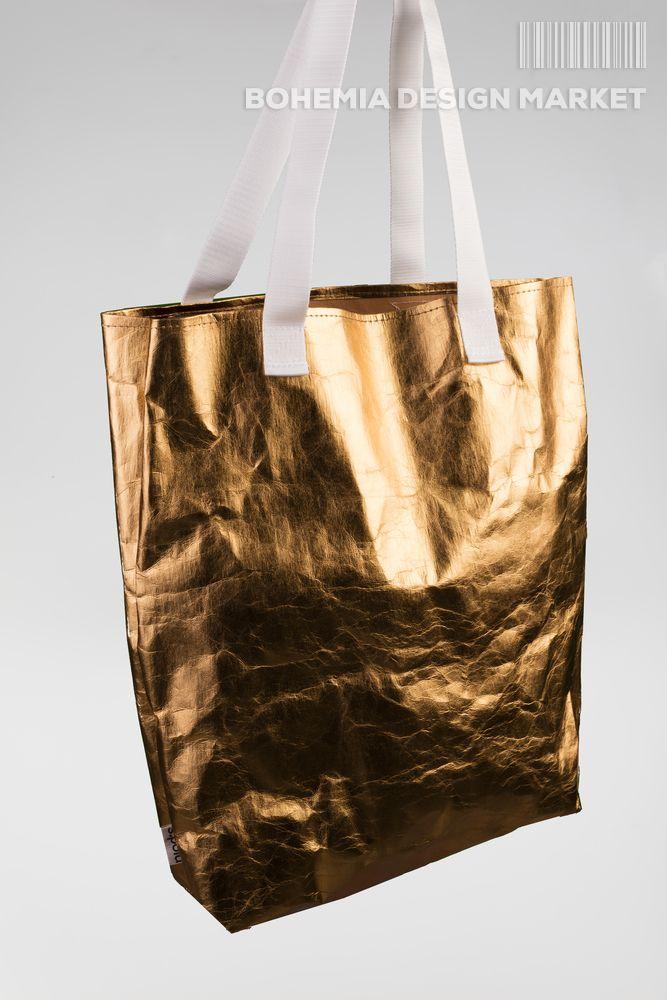 #eco #vegan #metallic #gold #bag #local #independent #original #design