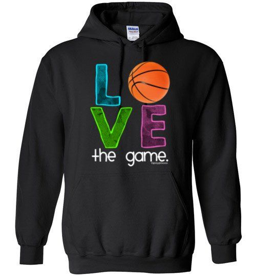 Golly Girls: Basketball Love The Game Gildan Heavy Blend Hoodie from $24.99 only on gollygirls.com
